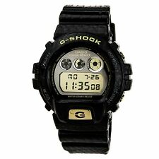 Casio DW6900CR-1 Men's G-Shock Alarm Chrono Digital Grey Dial Resin Strap Watch