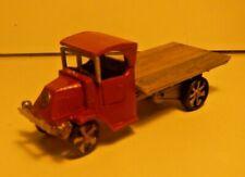 HO Custom Mack Flat Bed Truck w/ Real Wood Deck
