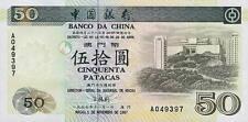 Macao/macao 50 patacas 1997 pick 92