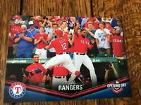Texas Rangers 2018 Topps Opening Day Opening Day at the Ballpark Insert