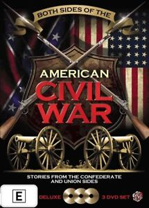 Both Sides Of The American Civil War DVD BRAND NEW SEALED 💥💥