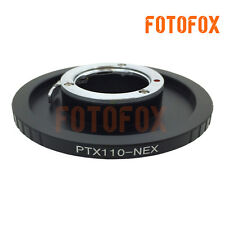 Pentax PTX110 Lens to Sony E mount adapter NEX-5T 7 6 3N A7 A7R A6000 VG10 A5100