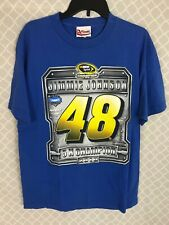 2010 Jimmie Johnson 48 Champion T-Shirt Nascar Sprint Cup Series Size L Large