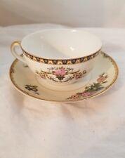 Vintage Noritake Patrician Tea Cup and Elysian Saucer