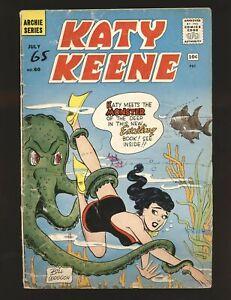 Katy Keene # 60 Fair/Good Cond.