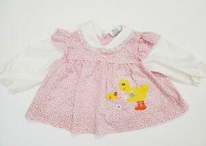 Vintage Big Bird Shirt Size 18 Months Sesame Street Smock Infant Toddler