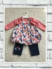 Baby Girls Clothes 3-6 Months - Cute Minnie Disney Outfit - Dress  & Leggings