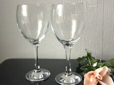 Large Clear Red Wine Glasses Balloons Set of 2 Drinking Cups 300ml (1)