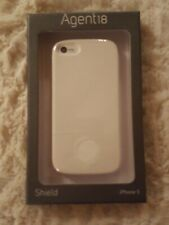 """AGENT18 """"SHIELD"""" iPhone 5 CELL PHONE CASE WHITE NEW IN BOX"""