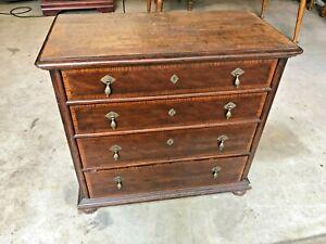HENREDON Dresser cabinet - bedroom 4 drawer Bachelor's Mahogany cherry  PICKUP
