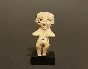 Élégante figurine féminine Tlatilco, vallée de mexico, Mexique. Precolombian art