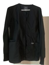 Cherokee Workwear Women's 4350 Snap Front Warm-Up Scrub Jacket-New-Free Ship