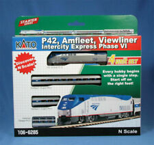 KATO N Amtrak Phase VI P42 Locomotive and 3 Car Set 1066285