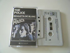 THE POLICE REGGATTA DE BLANC CASSETTE TAPE A&M 1979