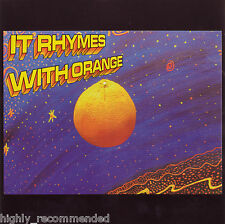 It Rhymes with Orange [Self-Titled] (CD, 2007 ) RARE!  Rock & Pop