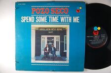 POZO SECO Spend Some Time With Me FOLK/ ROCK LP CERTRON