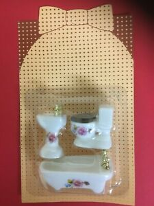 dolls house miniature bathroom 1/24th scale new