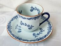 Rorstrand Ostindia East Indies Tea Cup & Saucer Sweden