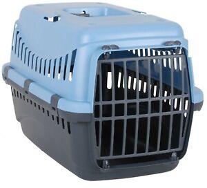 Pet Carrier Dog Carrier Cat Carrier 45cm x 30cm Lightweight Blue Travel Crate