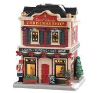 "RARE NIB Lemax Village ""Star of Wonder"" Christmas Shop Inside Scenes Lighted"