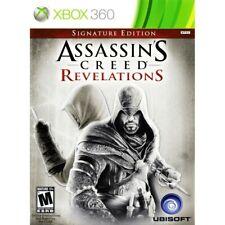 Assassin's Creed Revelations Xbox 360 -Signature Edition (GameStop stickers)