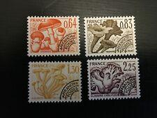FRANCE 1979 Pre-Cancels  'Mushrooms' MUH Yv158-161 (SPM249)