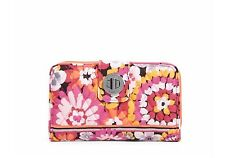 NEW Vera Bradley Turn Lock Wallet in Pixie Blooms.  Retail $49 Fast Shipping