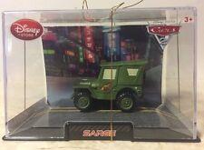 Disney Pixar Cars 2 Disney Store Collector Case SARGE