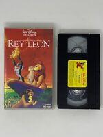 WALT DISNEY LOS CLÁSICOS EL REY LEON VHS