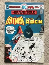 The Brave and the Bold Comic Book #124 DC Batman and Sgt. Rock   NM-