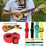 Adjustable Nylon Ukulele Strap Guitar Music Instrument Hook Guitar Accessories