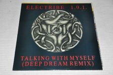 "ELECTRIBE 1.0.1. - Talking With nettoyageje - 80er 80 S - 12"" MAXI SINGLE VINYL LP"