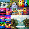 Scenery DIY 5D Diamond Painting Embroidery Cross Crafts Stitch Home Wall Decor
