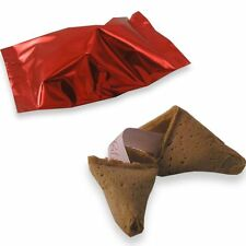 Chinese Fortune Cookies: Pack of 30: Red Foil Wrappers