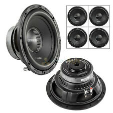 """4 Pack 10"""" Subwoofers Single 4 Ohm 1500 Watt Max 350W RMS Audio Sub Orion CT104S"""