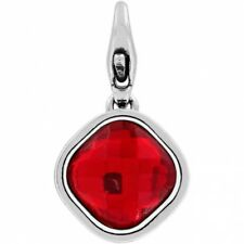 NEW Brighton ABC VENUS Birthstone Ruby Red JULY Crystal SNAP Charm
