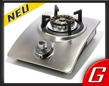 Propan Gaskocher 4,5 kW Gas Kocher Wokbrenner Gaswok HOT WOK Silver Gasherd Inox
