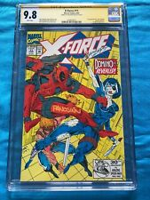 X-Force #11 - Marvel - CGC SS 9.8 NM/MT - Signed by Panosian - 1st real Domino