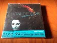 Unopened! ! LD-BOX Twin Peaks 2st.Season Part.2 David Lynch LASER DISC  japan