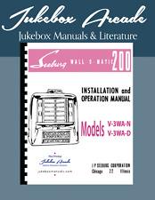 Seeburg Wall Box V-3WA-N and V-3WN-D Service Manual From Jukebox Arcade