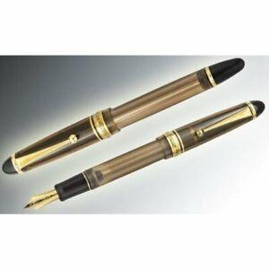 Pilot Fountain Pen Custom 823 Brown Fine FKK-3MRP-BN-F, 14K No.15 Japan