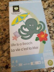 Cricut Cartridge Life is a Beach, linked cartridge