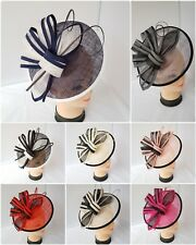 New Large Headband and Clip Hat Fascinator Weddings Ladies Day Race Royal Ascot