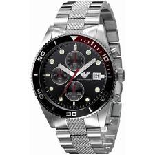 EMPORIO ARMANI Sport Black Men's Steel Watch AR5855
