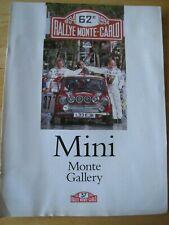 RALLYE MONTE CARLO 1994 MAGAZINE MINI MONTE GALLERY ROVER