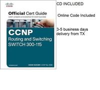 CCNP ROUTING AND SWITCHING SWITCH 300-115  1E by DAVID HUCA