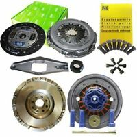 FLYWHEEL WITH VALEO CLUTCH, LUK BOLTS FOR A FORD AUSTRALIA TRANSIT BOX 2.4 D VH