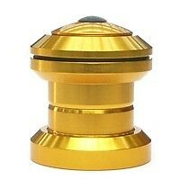 """NECO Scooter Threadless SEALED Headset 1-1/8"""" GOLD"""