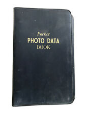 Vintage Photo Film & Processing Data Book Secrets of 1958 Photography.