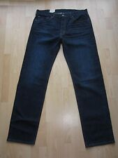 BNWT Mens Levi 505 Jeans Snug W36 L35.75 Tall Long Dark indigo Col 1119